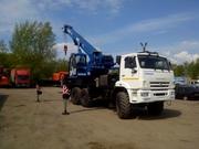 Автокран Клинцы,  25 тонн,  31 метр. Овоид. Вездеход.