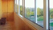 Обшивка балконов в Чебоксарах.