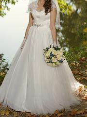 свадебное платье,  размер 44