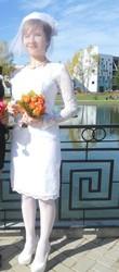 продам свадебное платье и вуалетку